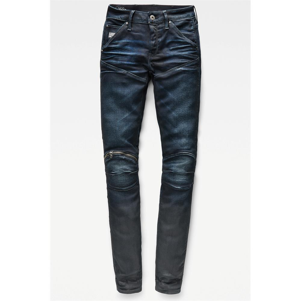 Indexbild 6 - G-Star 5620 Zip Mid Waist Skinny Damen Jeans Hose Jeanshose Röhrenjeans