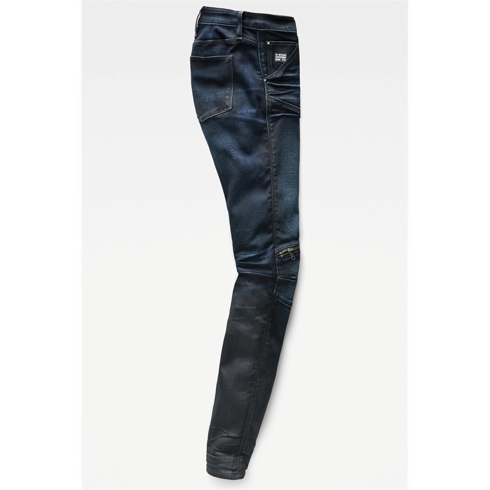 Indexbild 7 - G-Star 5620 Zip Mid Waist Skinny Damen Jeans Hose Jeanshose Röhrenjeans