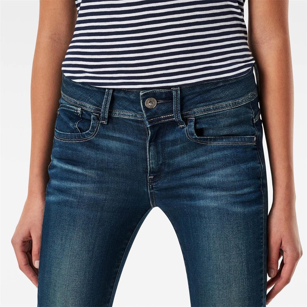Indexbild 40 - G-Star Lynn Mid Waist Skinny Damen Jeans Hose Jeanshose Röhrenjeans