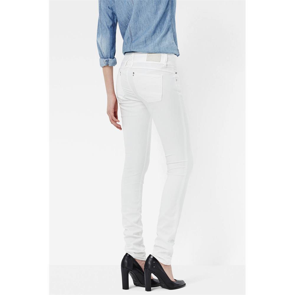 Indexbild 30 - G-Star Lynn Mid Waist Skinny Damen Jeans Hose Jeanshose Röhrenjeans