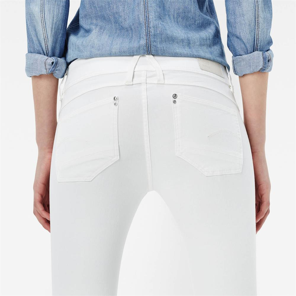 Indexbild 31 - G-Star Lynn Mid Waist Skinny Damen Jeans Hose Jeanshose Röhrenjeans