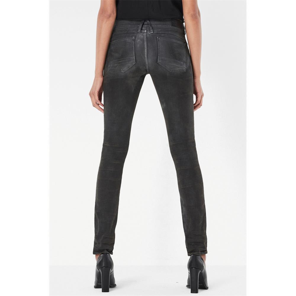 Indexbild 12 - G-Star Lynn Mid Waist Skinny Damen Jeans Hose Jeanshose Röhrenjeans