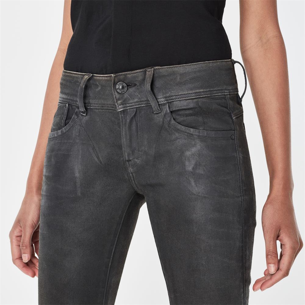 Indexbild 13 - G-Star Lynn Mid Waist Skinny Damen Jeans Hose Jeanshose Röhrenjeans