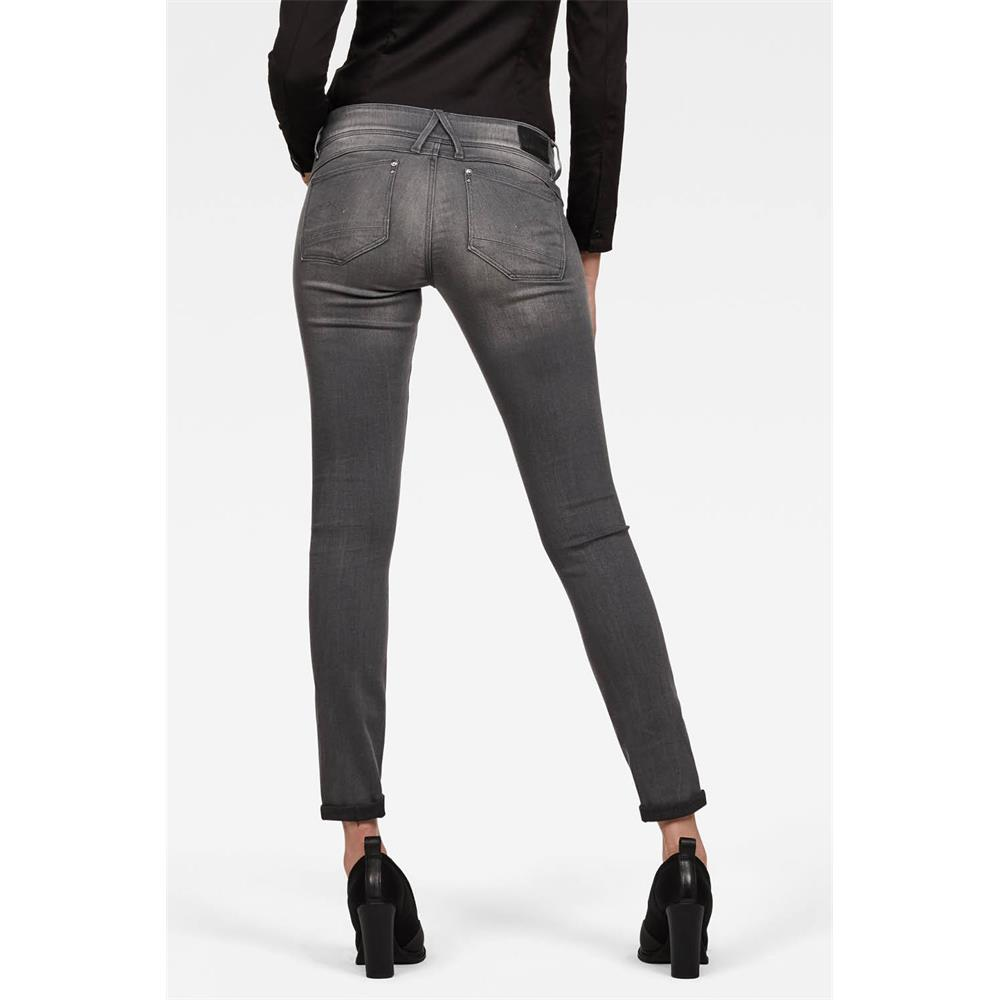Indexbild 3 - G-Star Lynn Mid Waist Skinny Damen Jeans Hose Jeanshose Röhrenjeans