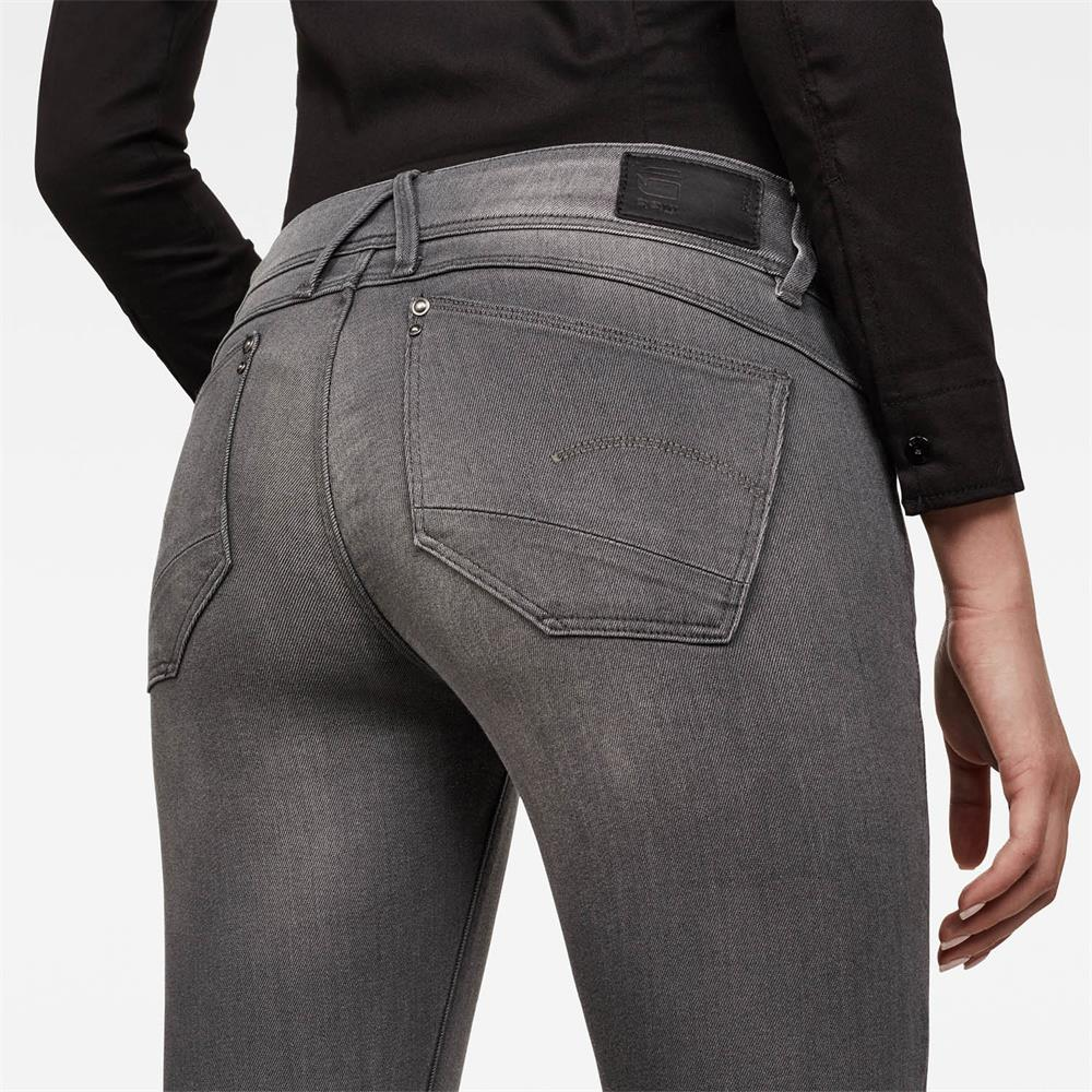 Indexbild 4 - G-Star Lynn Mid Waist Skinny Damen Jeans Hose Jeanshose Röhrenjeans