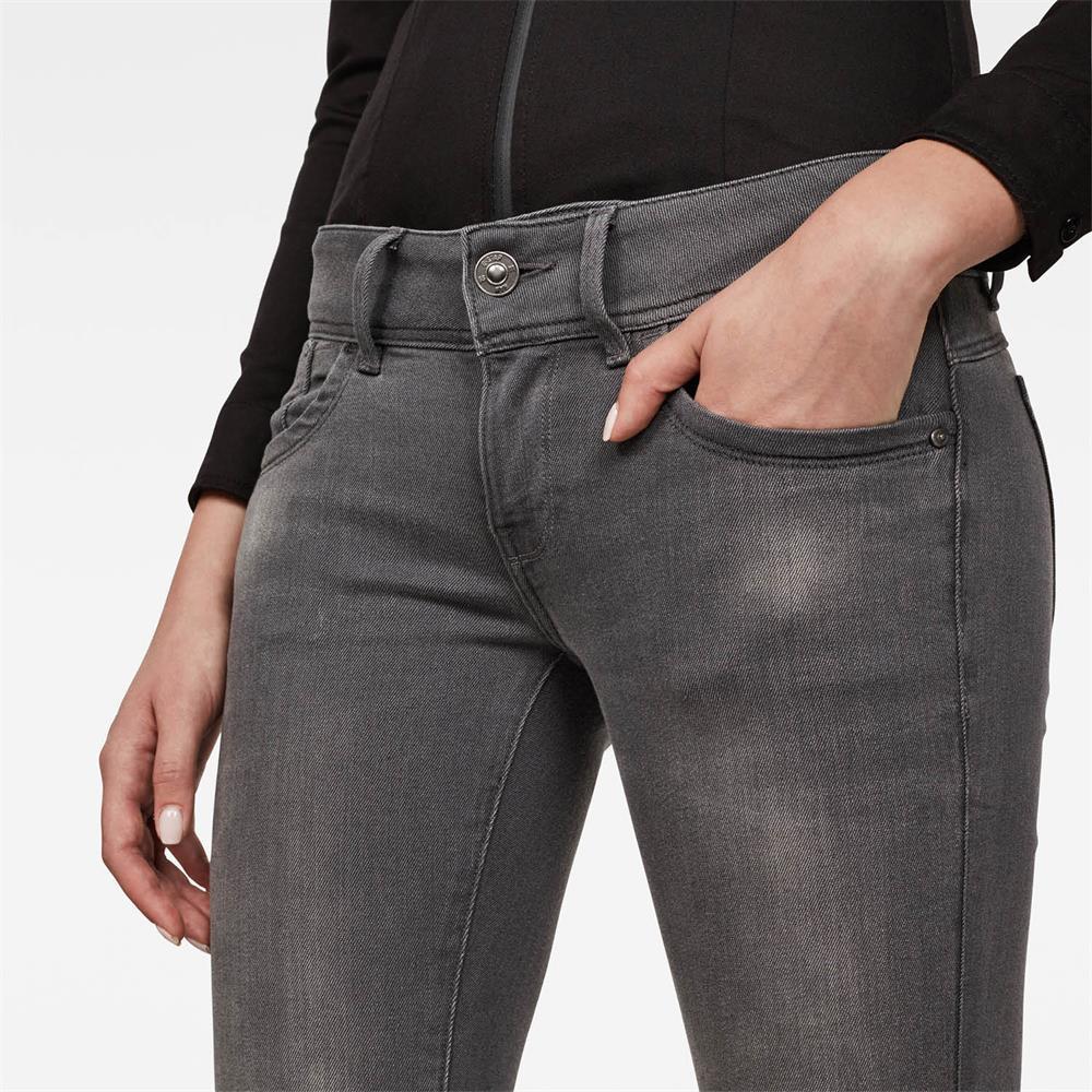 Indexbild 5 - G-Star Lynn Mid Waist Skinny Damen Jeans Hose Jeanshose Röhrenjeans