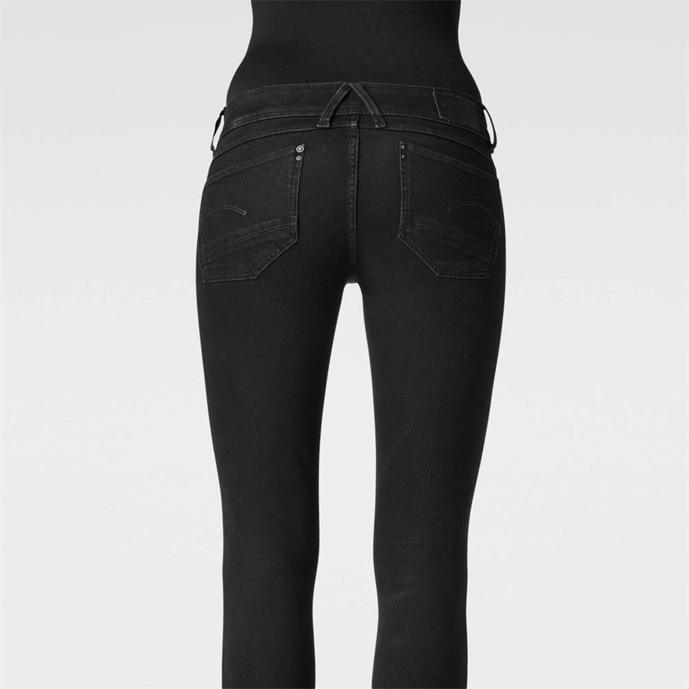 Indexbild 25 - G-Star Lynn Mid Waist Skinny Damen Jeans Hose Jeanshose Röhrenjeans