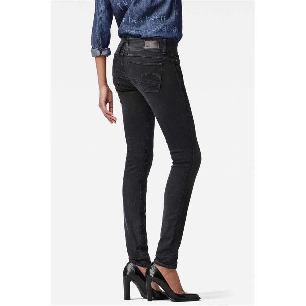 Indexbild 15 - G-Star Lynn Mid Waist Skinny Damen Jeans Hose Jeanshose Röhrenjeans