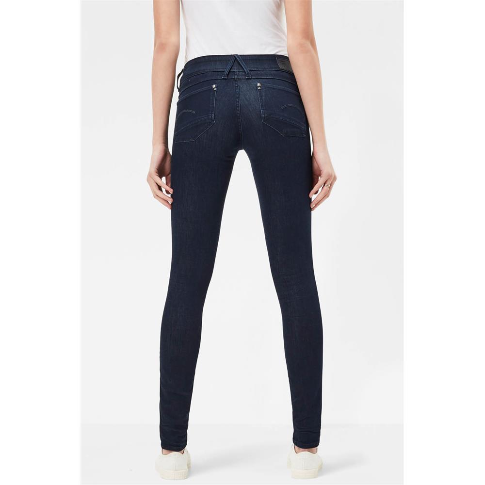 Indexbild 18 - G-Star Lynn Mid Waist Skinny Damen Jeans Hose Jeanshose Röhrenjeans