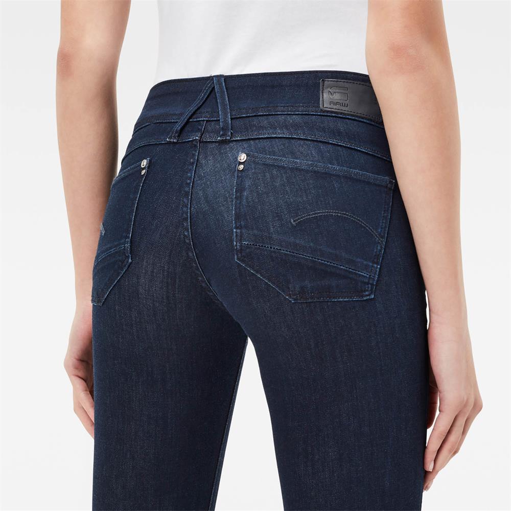 Indexbild 19 - G-Star Lynn Mid Waist Skinny Damen Jeans Hose Jeanshose Röhrenjeans