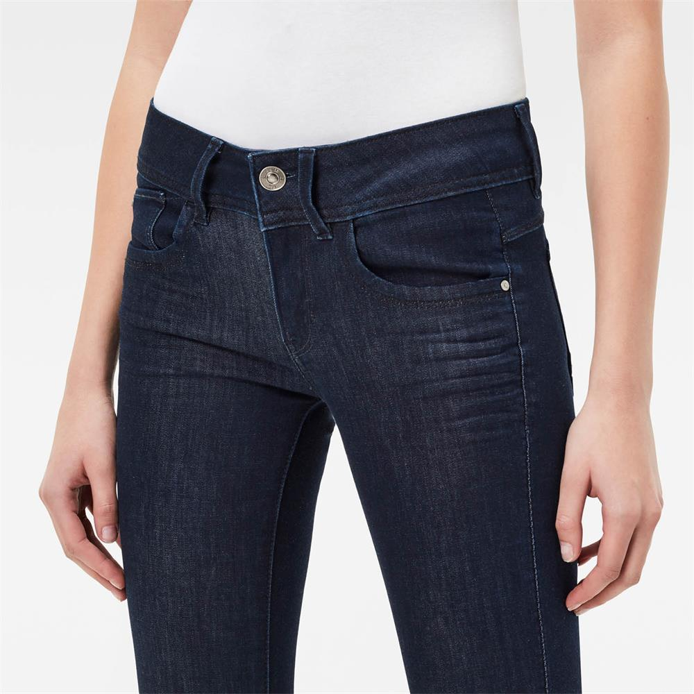 Indexbild 20 - G-Star Lynn Mid Waist Skinny Damen Jeans Hose Jeanshose Röhrenjeans