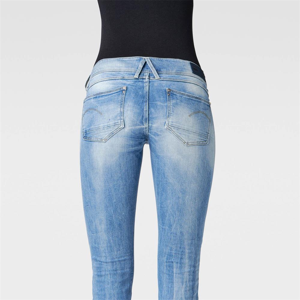 Indexbild 37 - G-Star Lynn Mid Waist Skinny Damen Jeans Hose Jeanshose Röhrenjeans