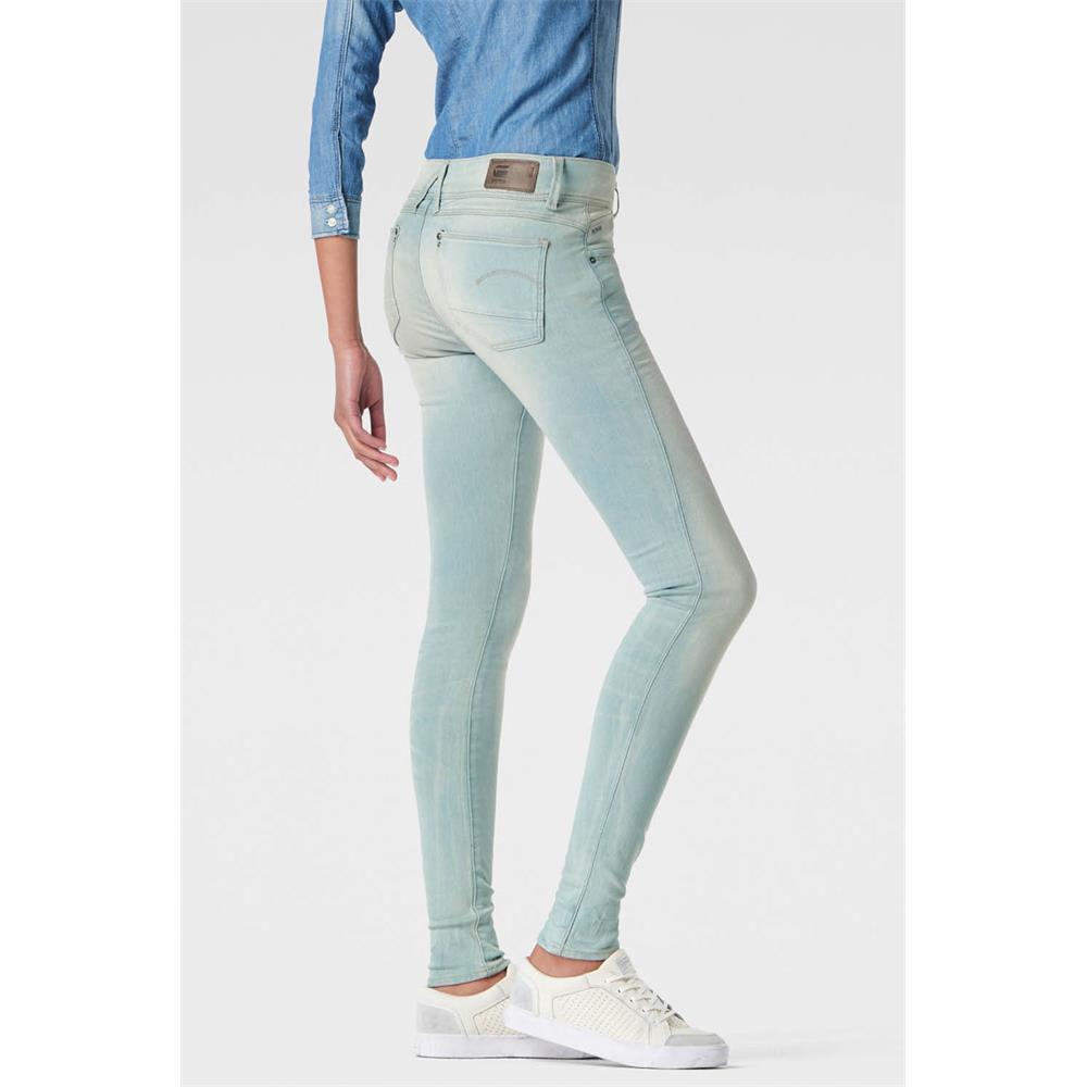 Indexbild 45 - G-Star Lynn Mid Waist Skinny Damen Jeans Hose Jeanshose Röhrenjeans