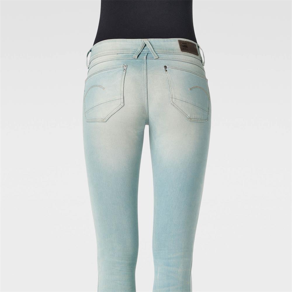 Indexbild 46 - G-Star Lynn Mid Waist Skinny Damen Jeans Hose Jeanshose Röhrenjeans