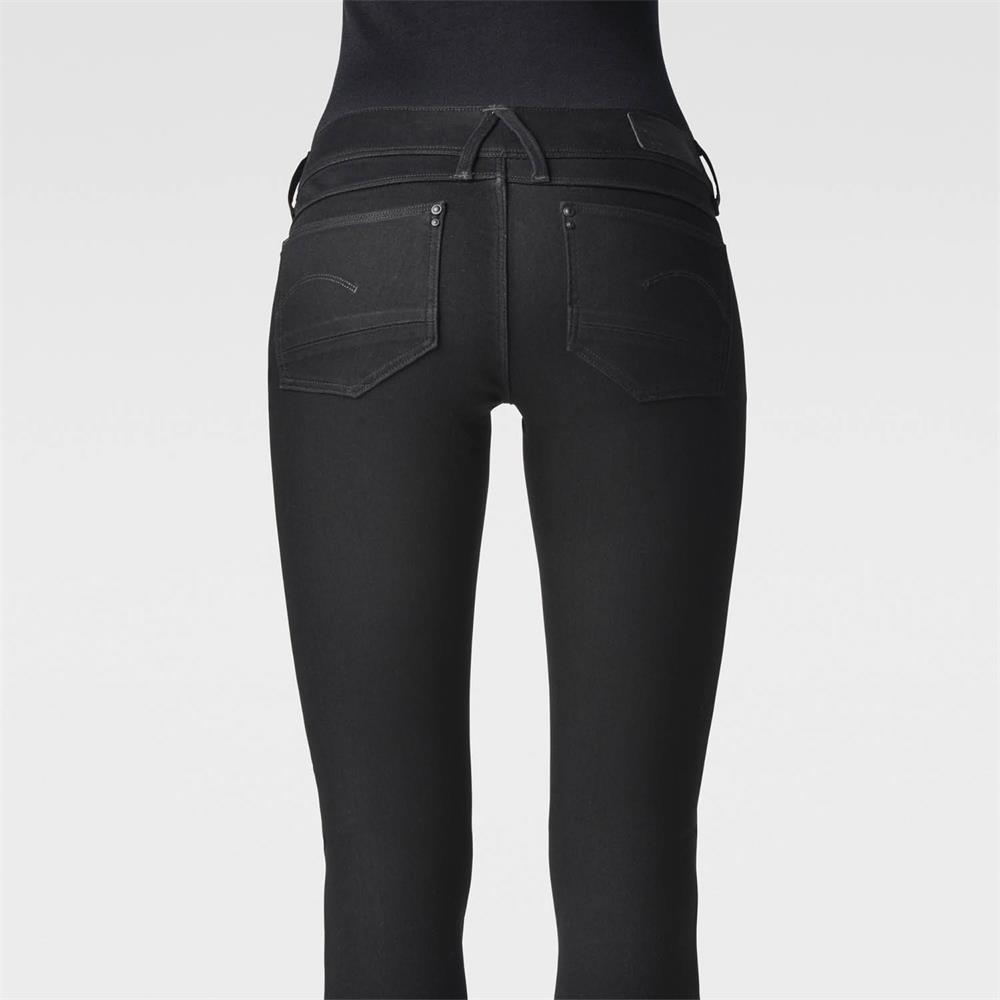 Indexbild 7 - G-Star Lynn Zip Mid Waist Skinny Damen Jeans Hose Jeanshose Röhrenjeans
