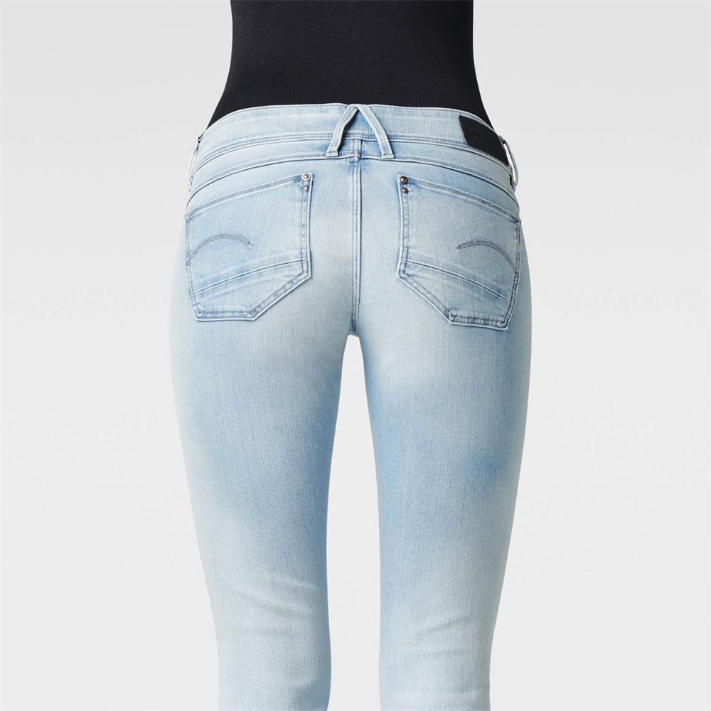 Indexbild 10 - G-Star Lynn Zip Mid Waist Skinny Damen Jeans Hose Jeanshose Röhrenjeans