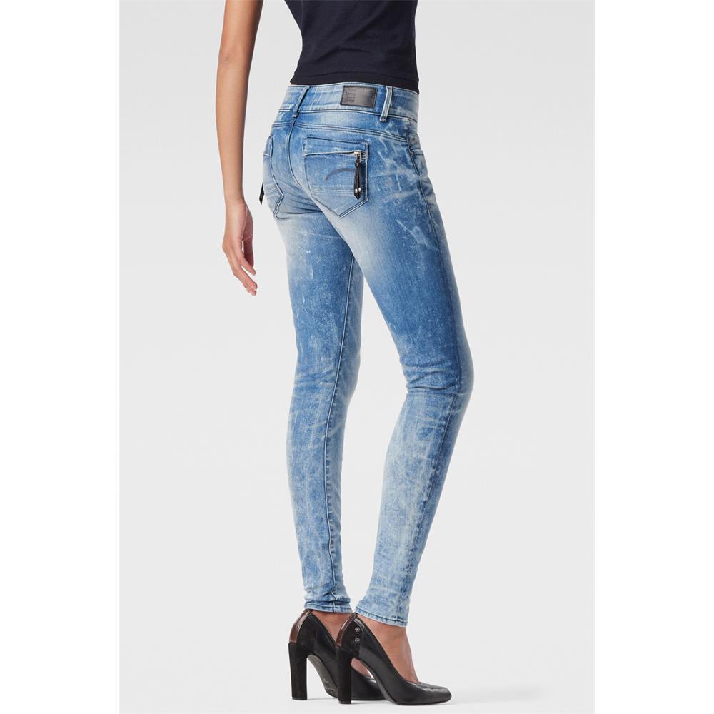 Indexbild 10 - G-Star-Midge-Cody-Mid-Waist-Skinny-Damen-Jeans-Hose-Jeanshose-Roehrenjeans