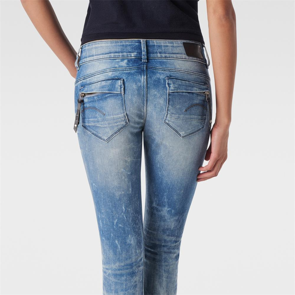 Indexbild 11 - G-Star-Midge-Cody-Mid-Waist-Skinny-Damen-Jeans-Hose-Jeanshose-Roehrenjeans
