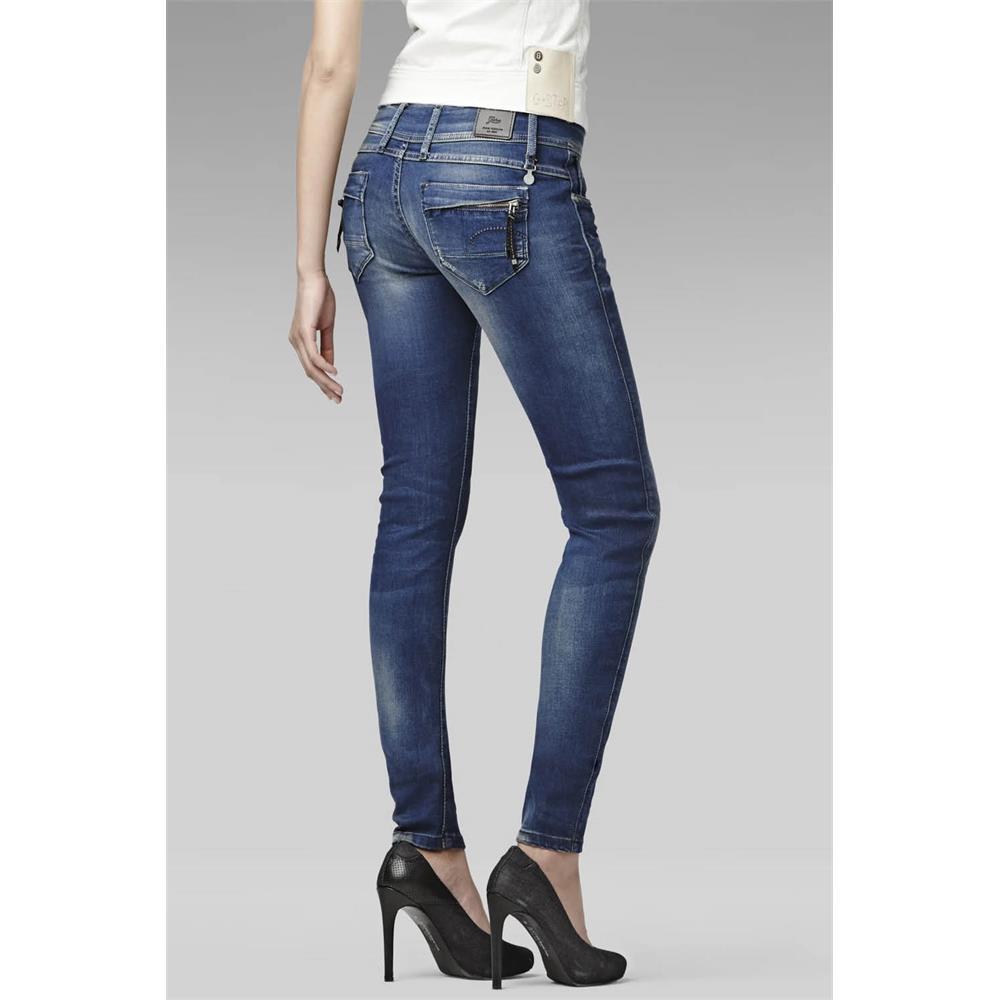 Indexbild 6 - G-Star-Midge-Cody-Mid-Waist-Skinny-Damen-Jeans-Hose-Jeanshose-Roehrenjeans