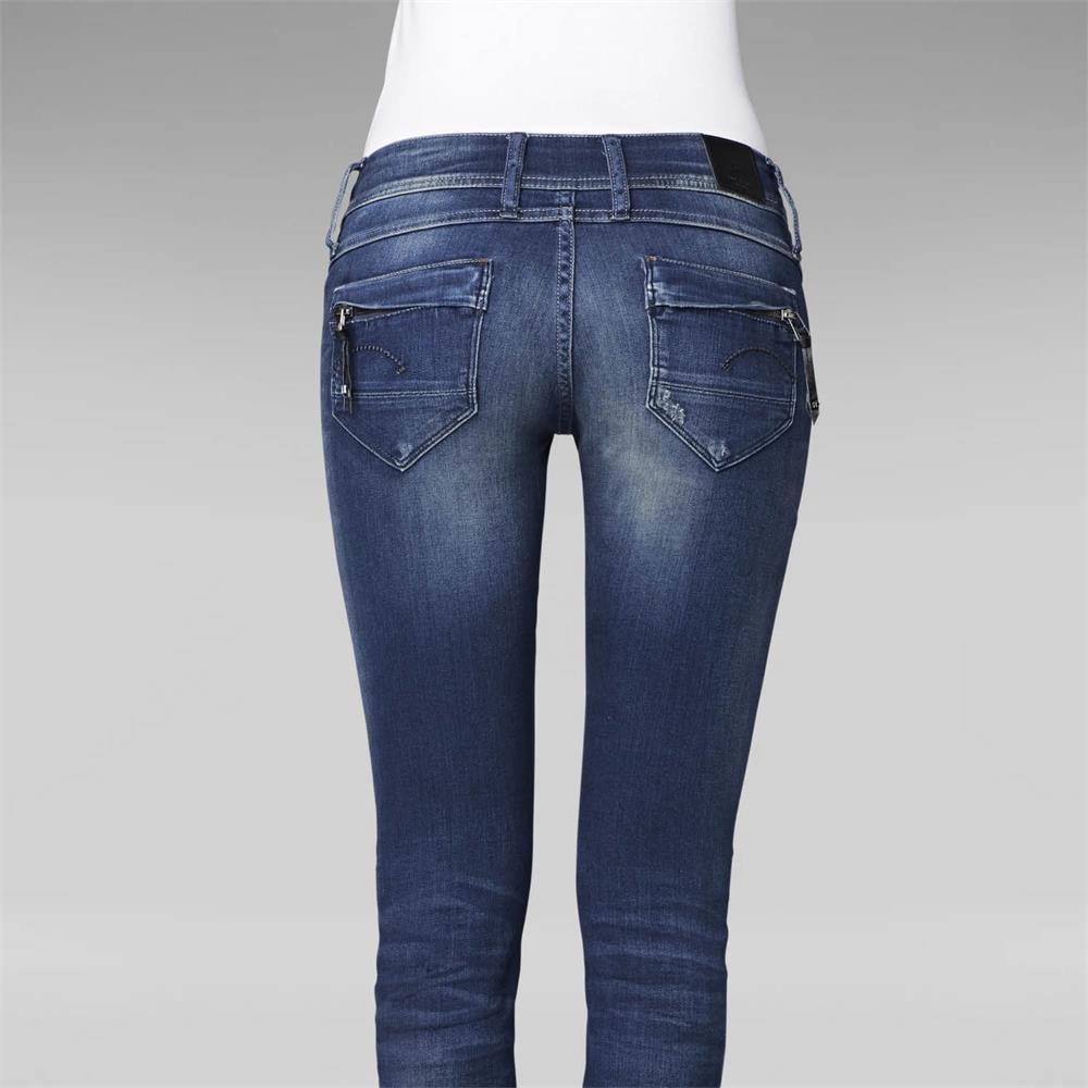 Indexbild 8 - G-Star-Midge-Cody-Mid-Waist-Skinny-Damen-Jeans-Hose-Jeanshose-Roehrenjeans