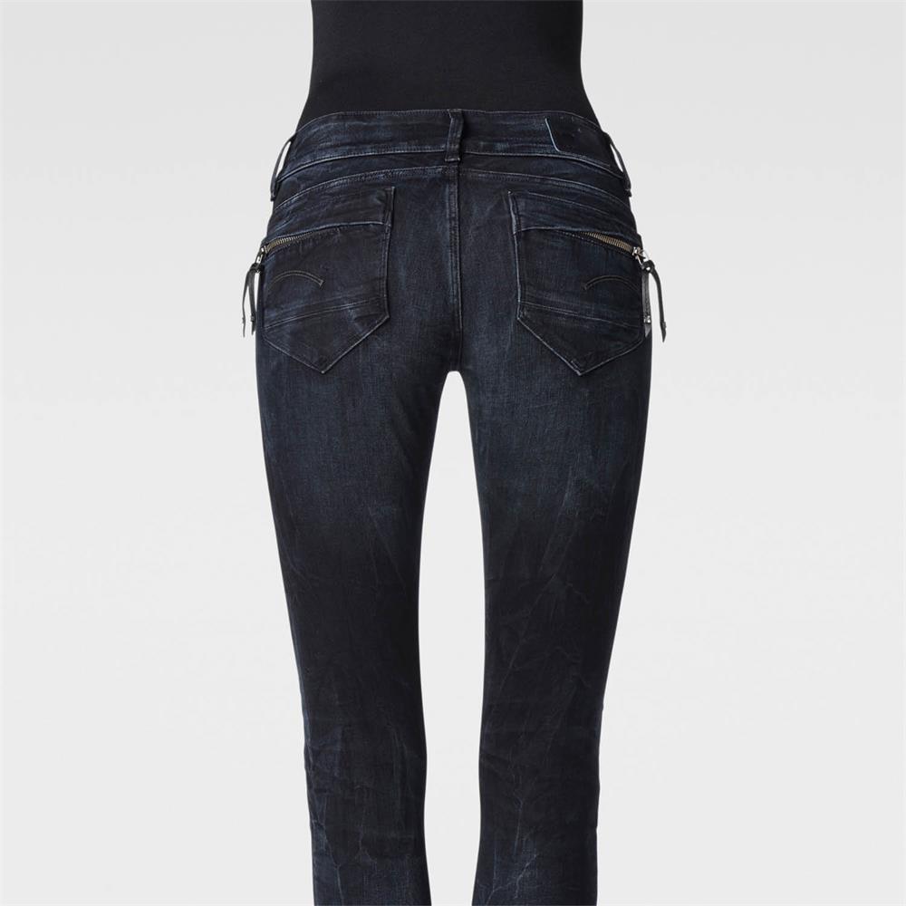 Indexbild 4 - G-Star-Midge-Cody-Mid-Waist-Skinny-Damen-Jeans-Hose-Jeanshose-Roehrenjeans