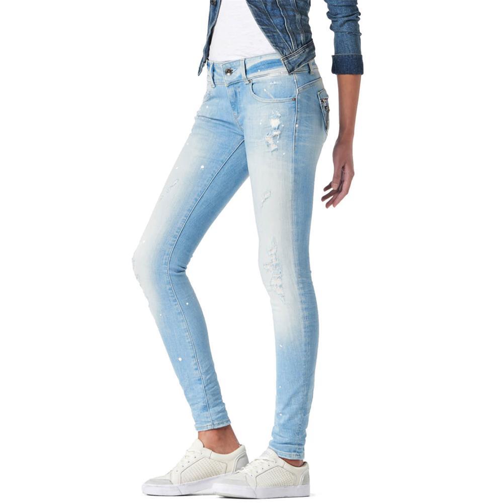 Indexbild 16 - G-Star-Midge-Cody-Mid-Waist-Skinny-Damen-Jeans-Hose-Jeanshose-Roehrenjeans