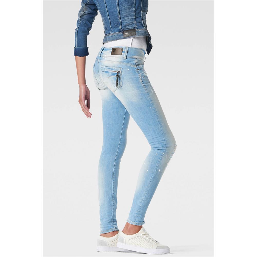 Indexbild 17 - G-Star-Midge-Cody-Mid-Waist-Skinny-Damen-Jeans-Hose-Jeanshose-Roehrenjeans