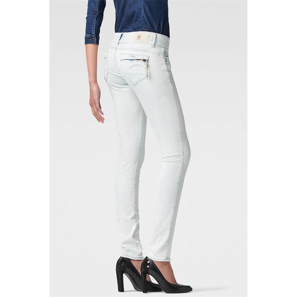 Indexbild 22 - G-Star-Midge-Cody-Mid-Waist-Skinny-Damen-Jeans-Hose-Jeanshose-Roehrenjeans