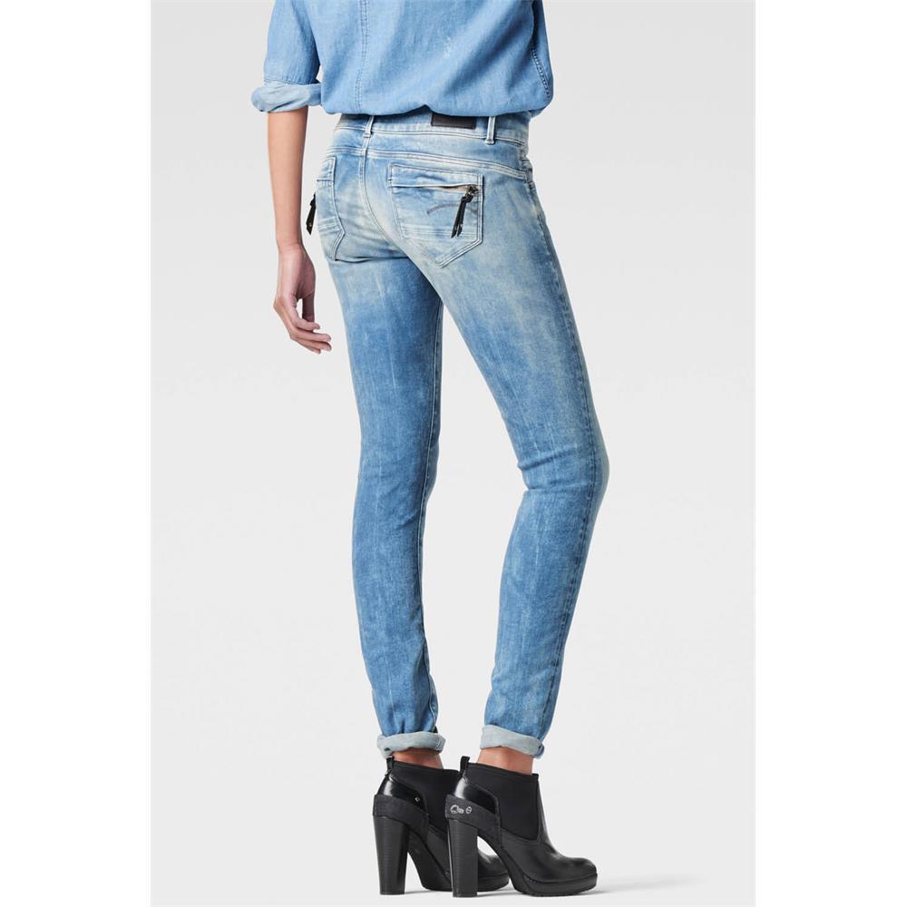 Indexbild 13 - G-Star-Midge-Cody-Mid-Waist-Skinny-Damen-Jeans-Hose-Jeanshose-Roehrenjeans
