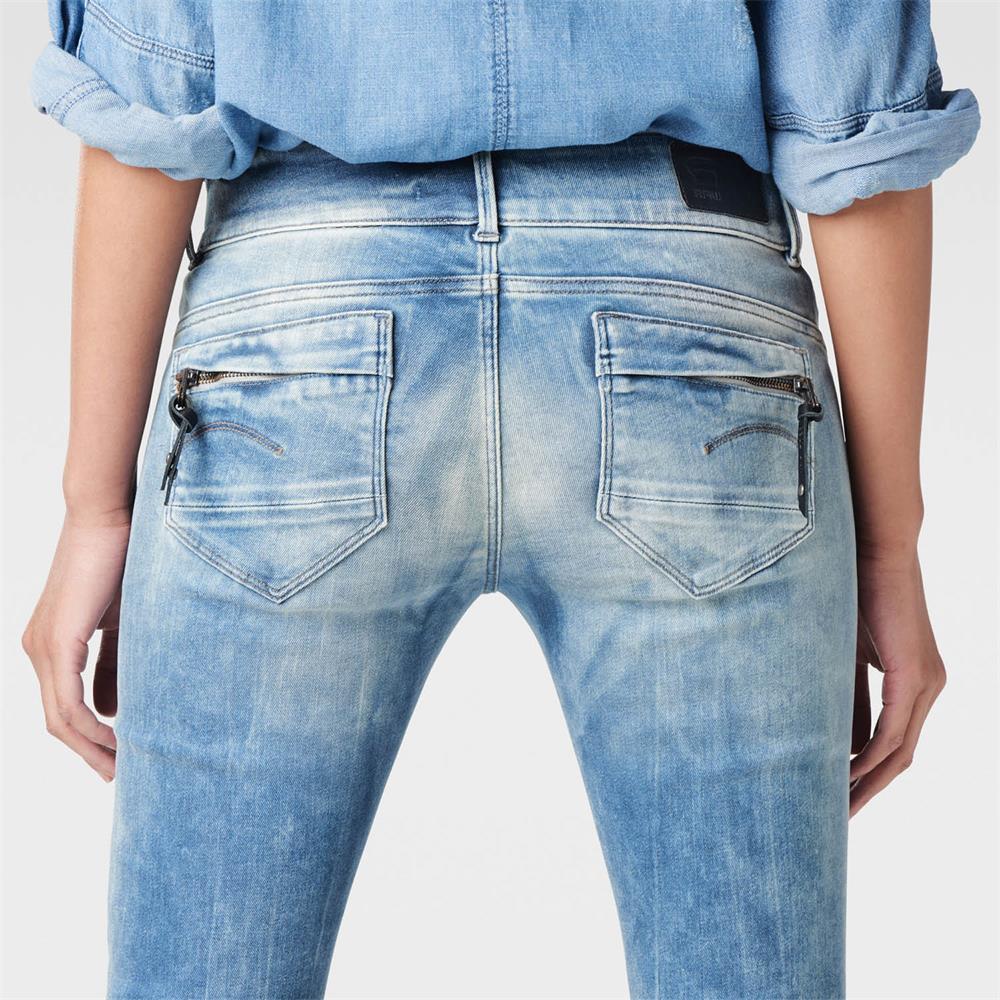 Indexbild 14 - G-Star-Midge-Cody-Mid-Waist-Skinny-Damen-Jeans-Hose-Jeanshose-Roehrenjeans