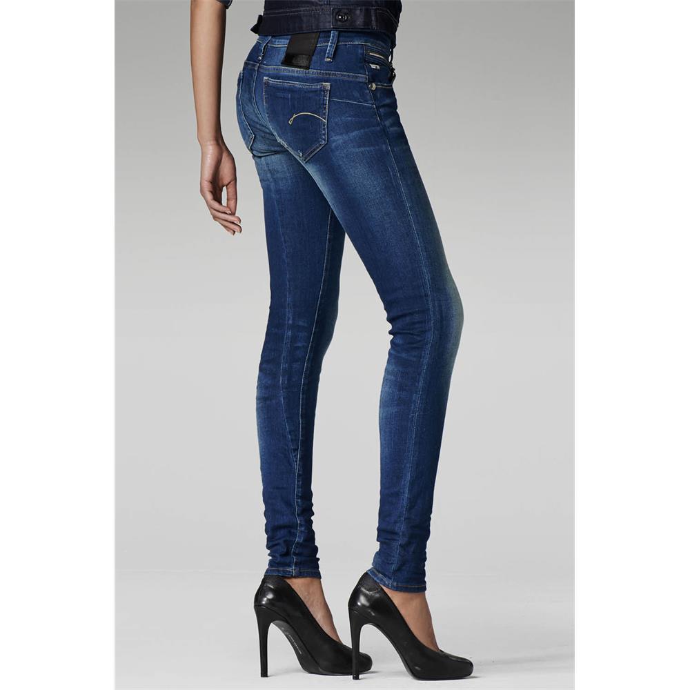 Indexbild 7 - G-Star Midge Sculpted Low Waist Skinny Damen Jeans Hose Jeanshose Röhrenjeans