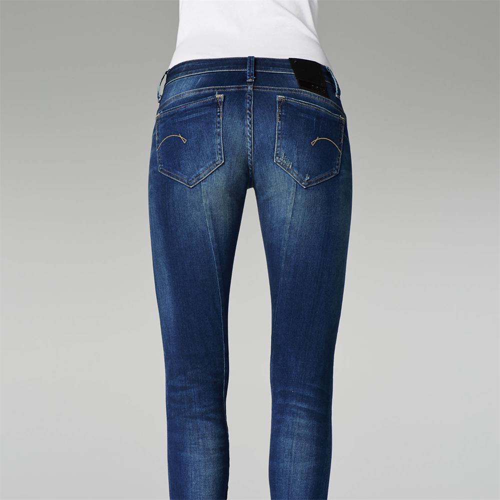 Indexbild 8 - G-Star Midge Sculpted Low Waist Skinny Damen Jeans Hose Jeanshose Röhrenjeans