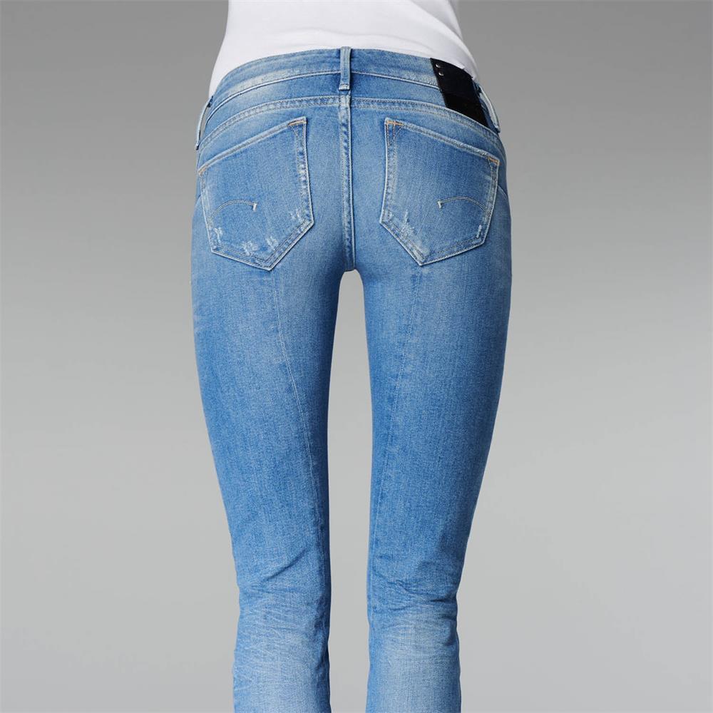 Indexbild 4 - G-Star Midge Sculpted Low Waist Skinny Damen Jeans Hose Jeanshose Röhrenjeans