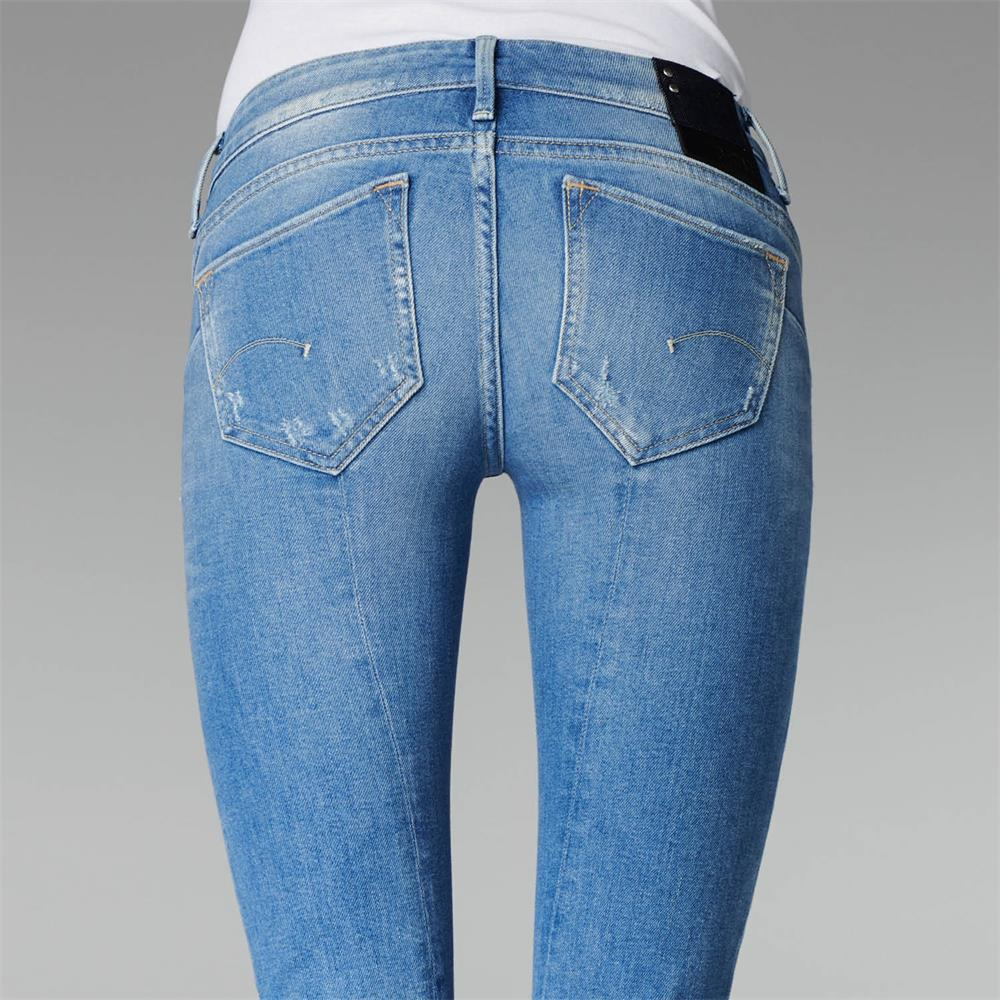 Indexbild 5 - G-Star Midge Sculpted Low Waist Skinny Damen Jeans Hose Jeanshose Röhrenjeans