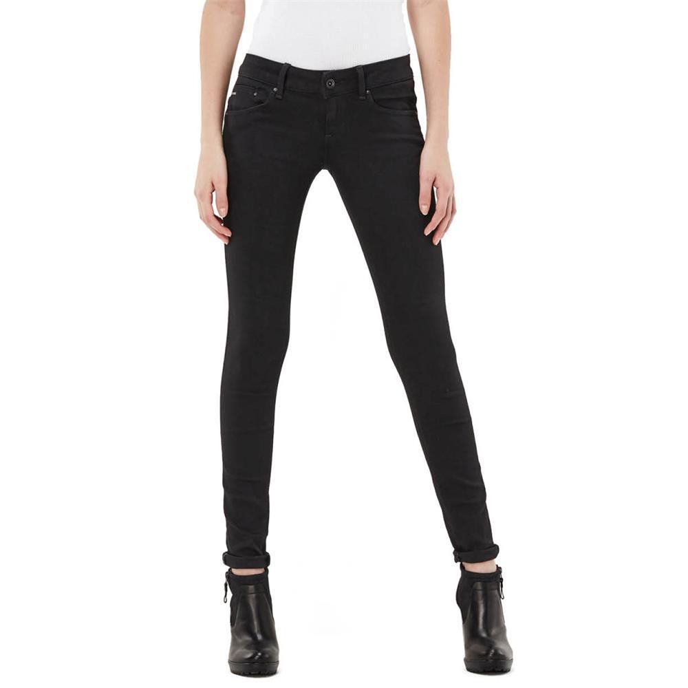 Indexbild 5 - G-Star Midge Zip Low Waist Super Skinny Damen Jeans Hose Jeanshose Röhrenjeans