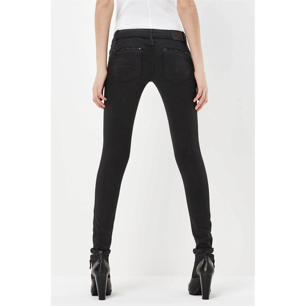 Indexbild 6 - G-Star Midge Zip Low Waist Super Skinny Damen Jeans Hose Jeanshose Röhrenjeans