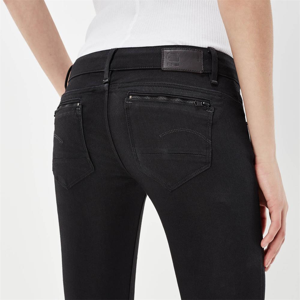 Indexbild 7 - G-Star Midge Zip Low Waist Super Skinny Damen Jeans Hose Jeanshose Röhrenjeans