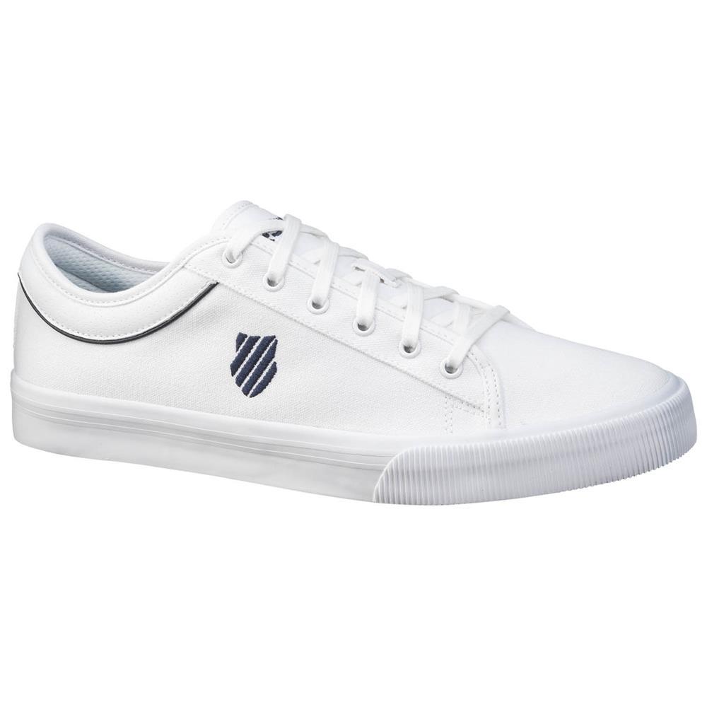 K-Swiss-Bridgeport-II-Canvas-Sneaker-Sommer-Schuhe-Sportschuhe-Turnschuhe Indexbild 3