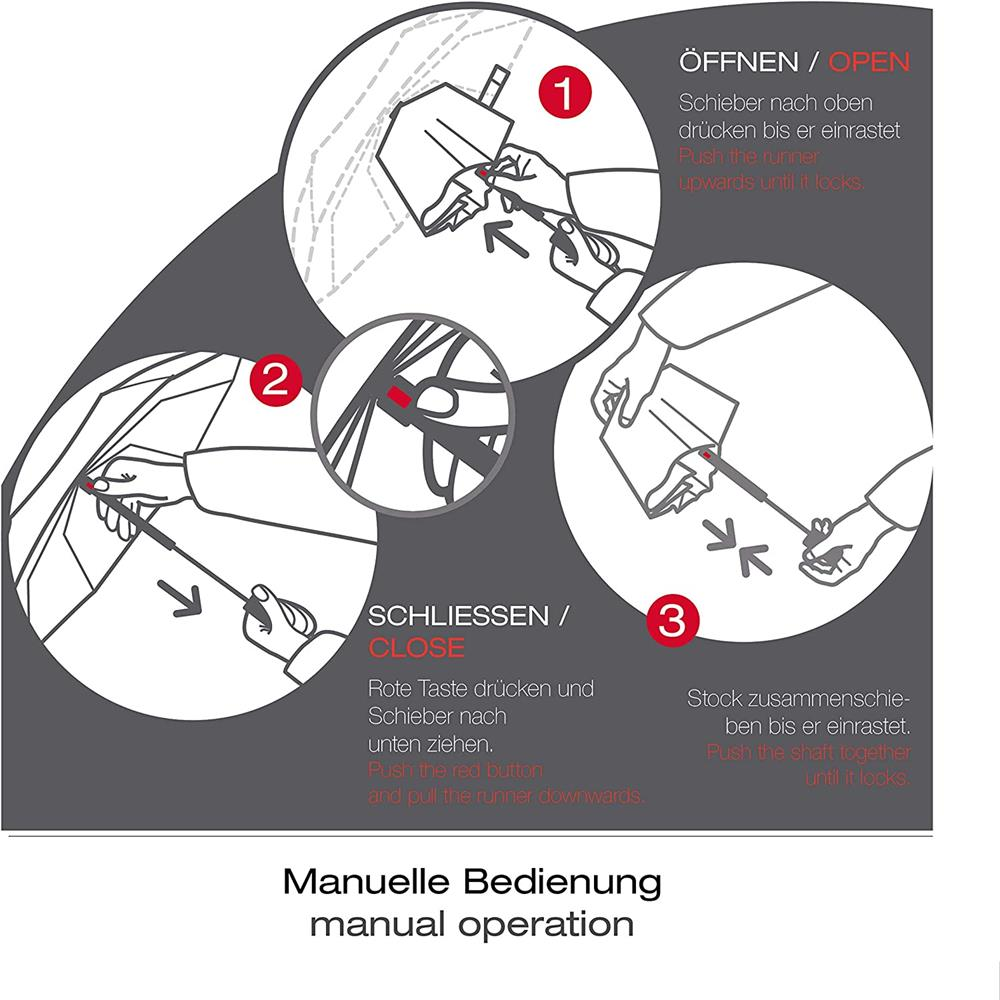 Knirps-X1-Regenschirm-Taschenschirm Indexbild 7