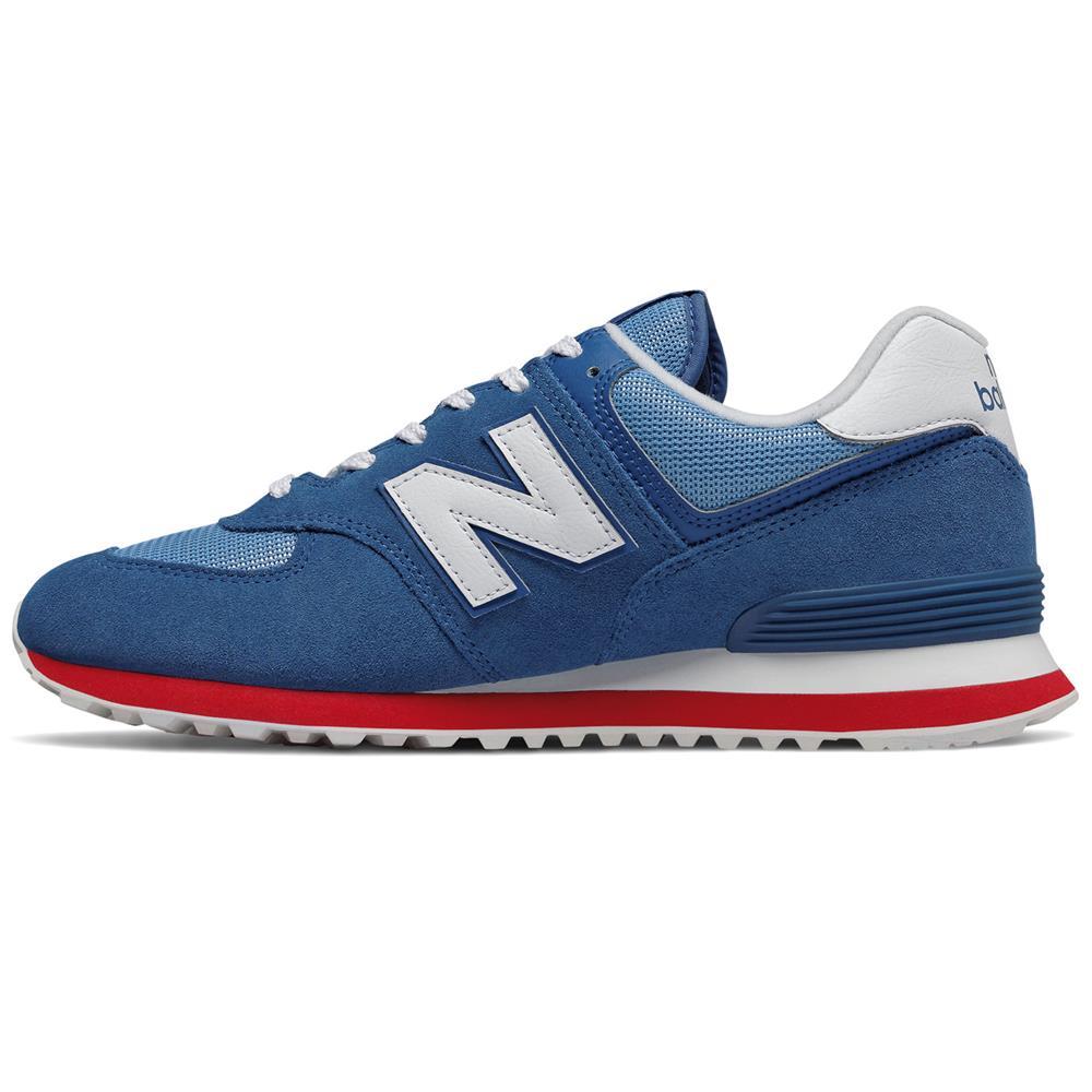 New-Balance-ML-574-ER-Herren-Sneaker-Leder-Schuhe-Turnschuhe-Sportschuhe Indexbild 7