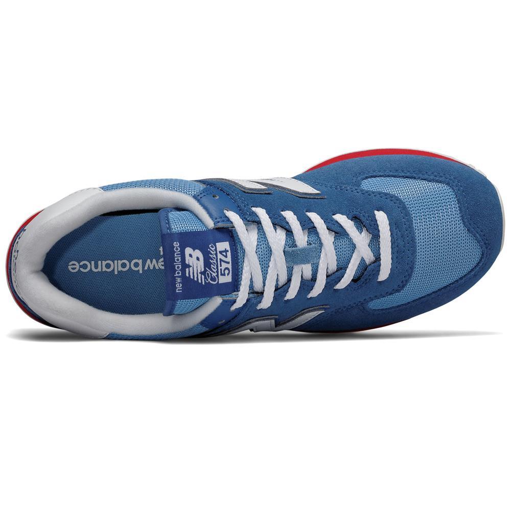 New-Balance-ML-574-ER-Herren-Sneaker-Leder-Schuhe-Turnschuhe-Sportschuhe Indexbild 8