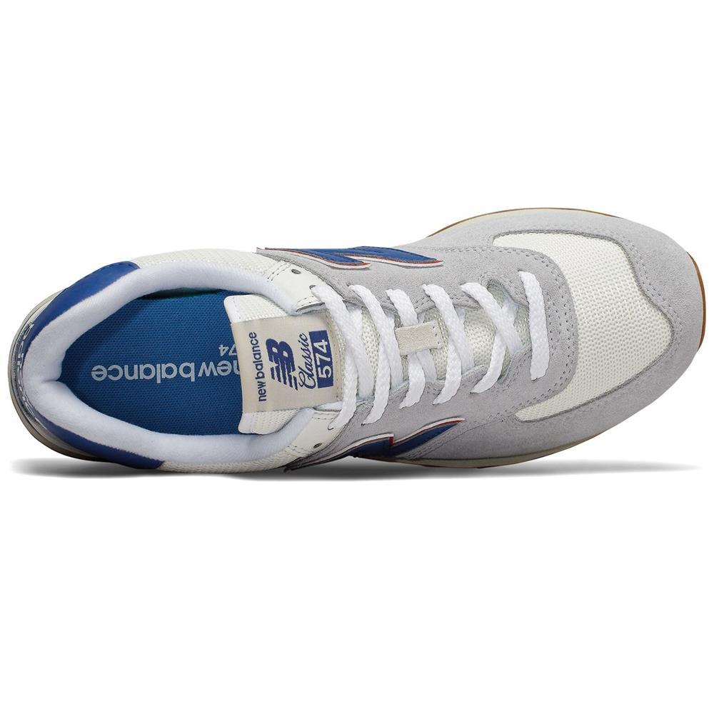 New-Balance-ML-574-ER-Herren-Sneaker-Leder-Schuhe-Turnschuhe-Sportschuhe Indexbild 12