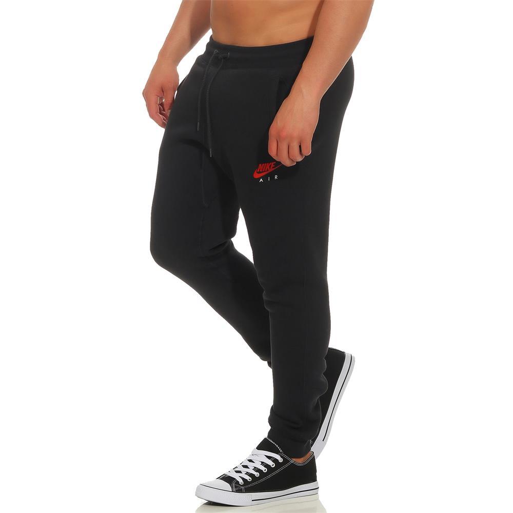 Nike-Air-Heritage-Fleece-Cuff-Slim-Pant-Hose-Trainingshose-Jogginghose-Sporthose