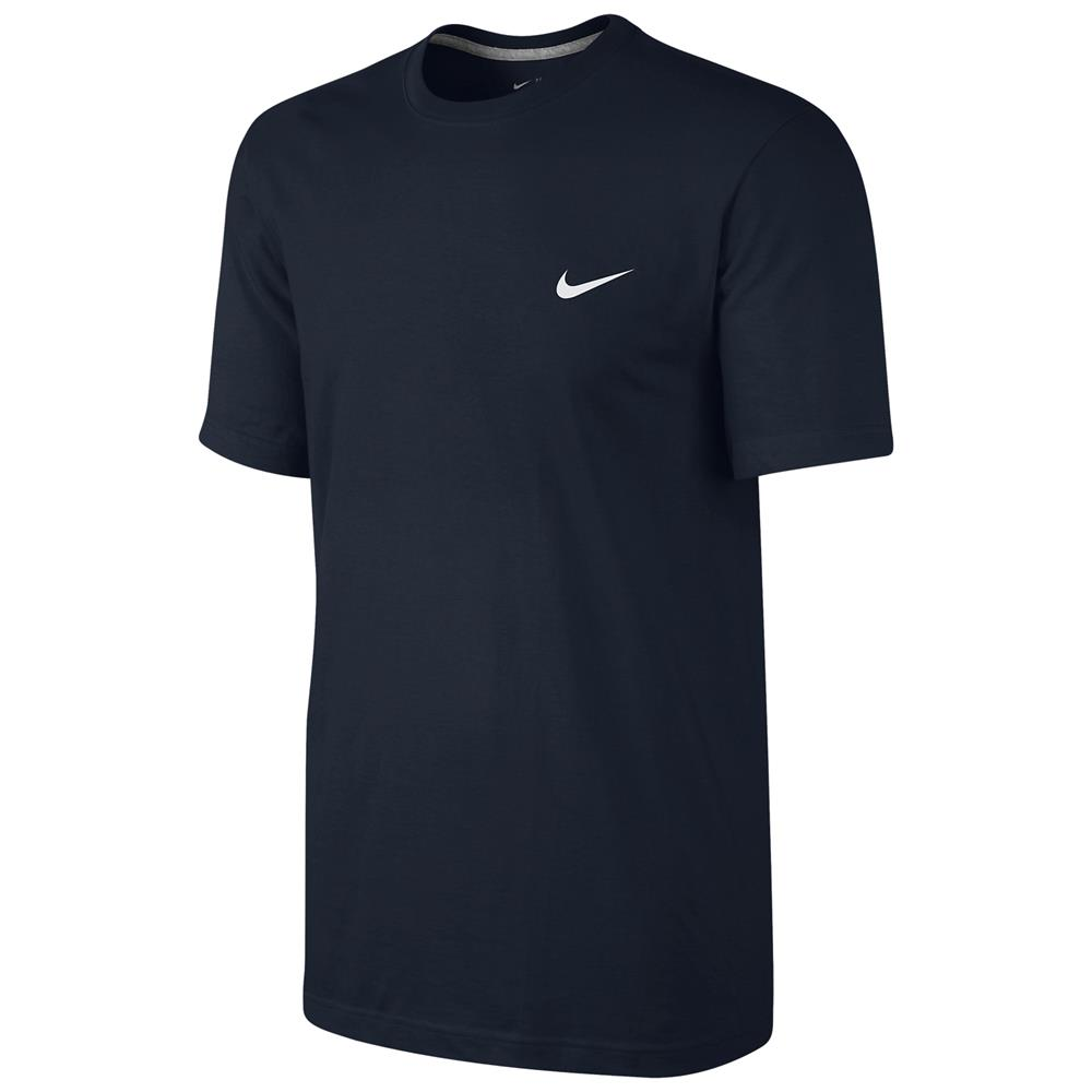 Nike-Embroidered-Swoosh-T-Shirt-Classic-Basic-Sport-Fitness-Freizeit-Shirt-Top