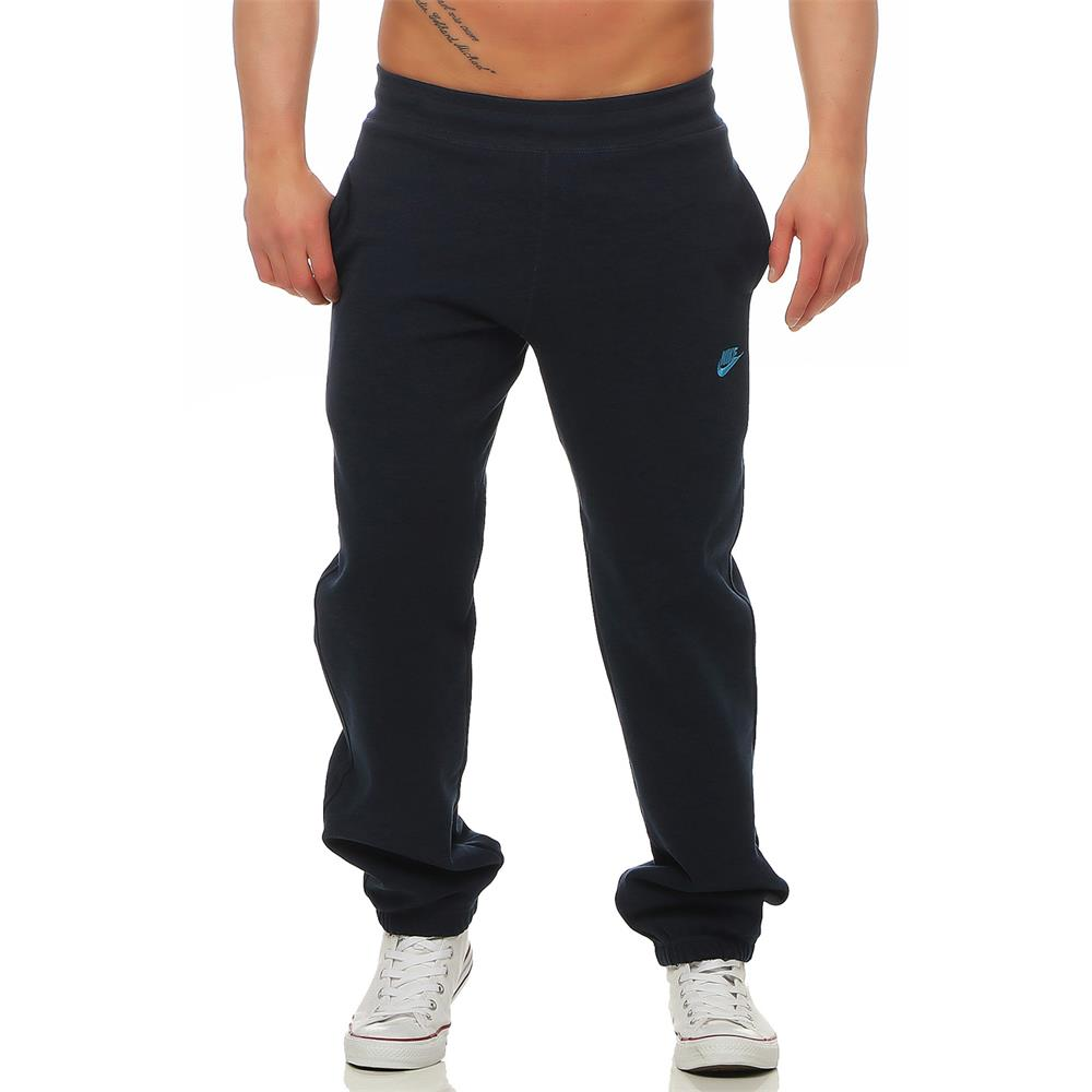 Nike-Classic-Fleece-Brushed-Hose-Jogginghose-Sweathose-Trainingshose-Sporthose