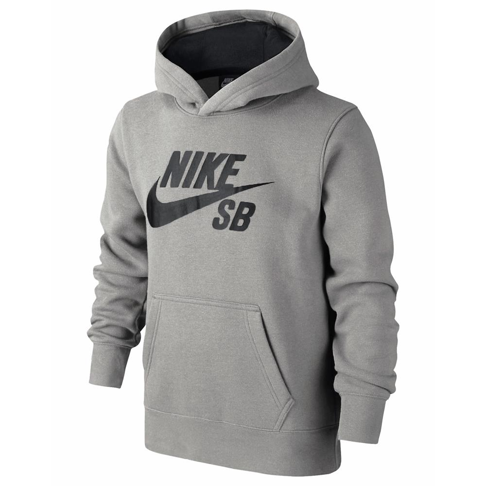 nike sb logo fleece hoodie children boys sweatshirt girls. Black Bedroom Furniture Sets. Home Design Ideas