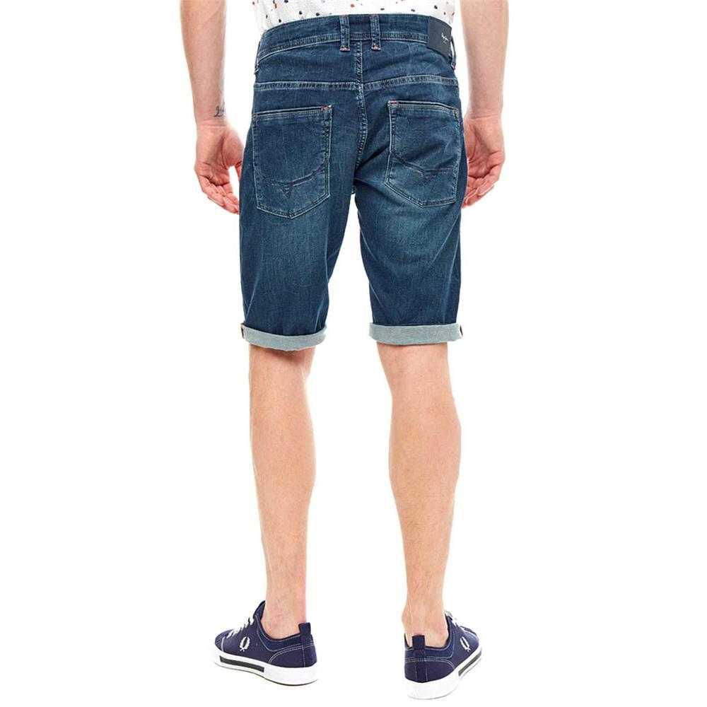 Indexbild 3 - Pepe Jeans Cage Cut Short Herren Regular-Fit Jeans Shorts Bermuda Kurze Hose