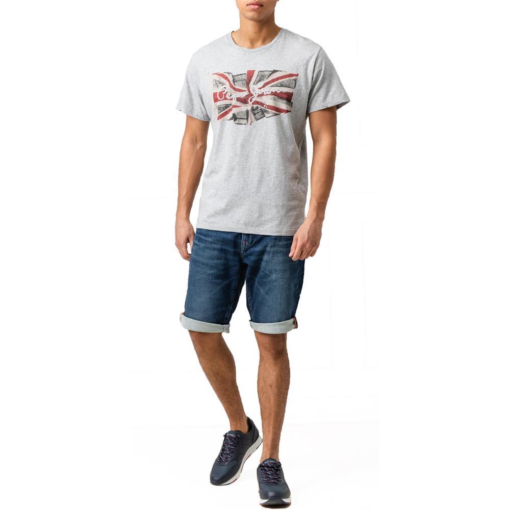 Indexbild 4 - Pepe Jeans Cage Cut Short Herren Regular-Fit Jeans Shorts Bermuda Kurze Hose