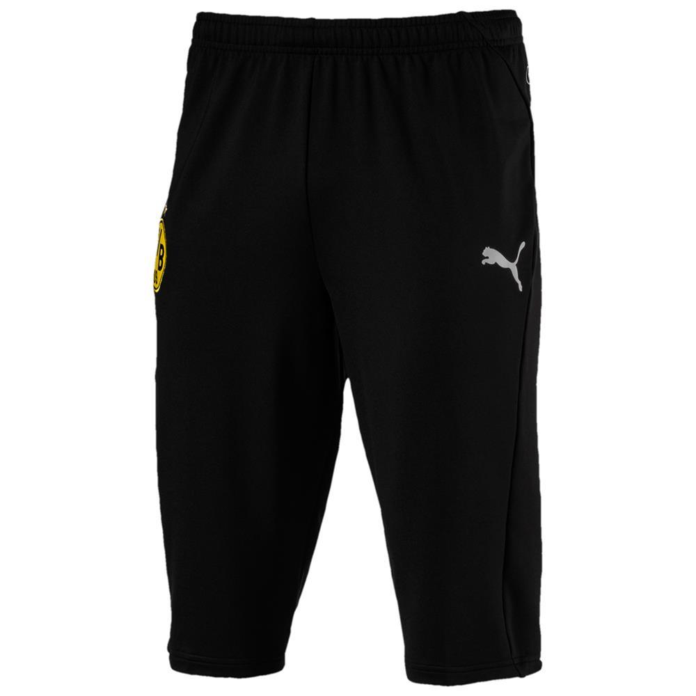 Puma-BVB-Borussia-Dortmund-Herren-3-4-Training-Pant-Trainingshose-Sporthose Indexbild 5