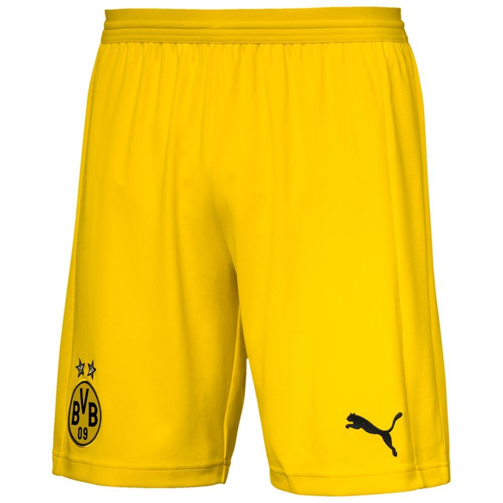 Indexbild 5 - Puma BVB Dortmund Home Replica Shorts Kurze Hose Trainingshose Sporthose 18/19